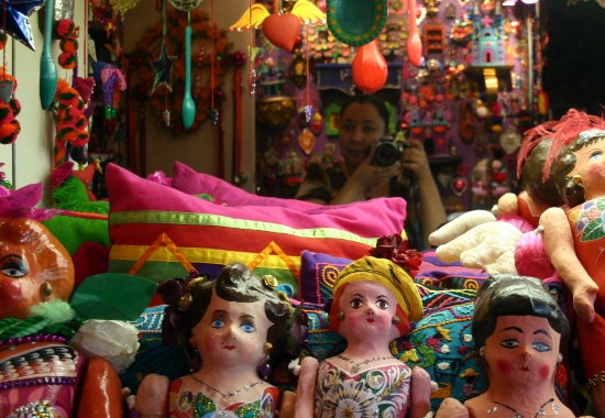 Each of these 3,000 objects of Mexican Folk Art need - and have - a category.Thanks to Aleida Garcia for the picture.  www.imasonline.org