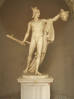 Perseus by Antonio Canova, picture by Hans Weingartz