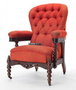 Historically Stellar – Douglas Chair – C1870 – Victorian Parlour Chair - History Collection – Royal BC Museum
