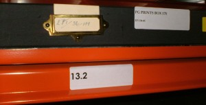 box labelling example