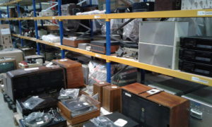 Radios still to be processed.
