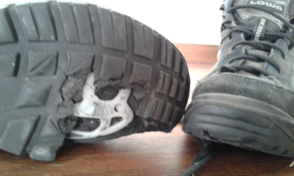 hiking boot without sole